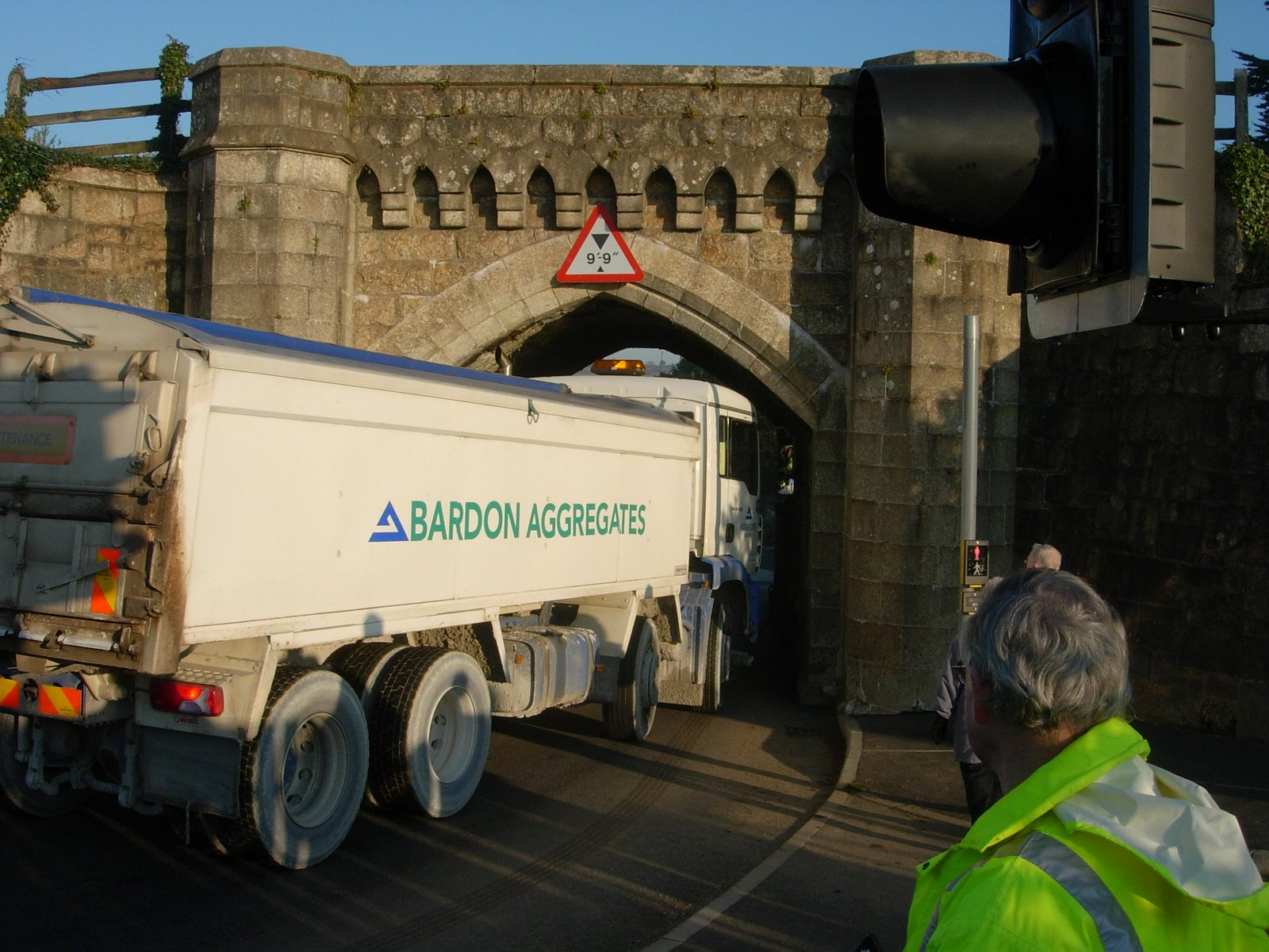 Demonstration lorry